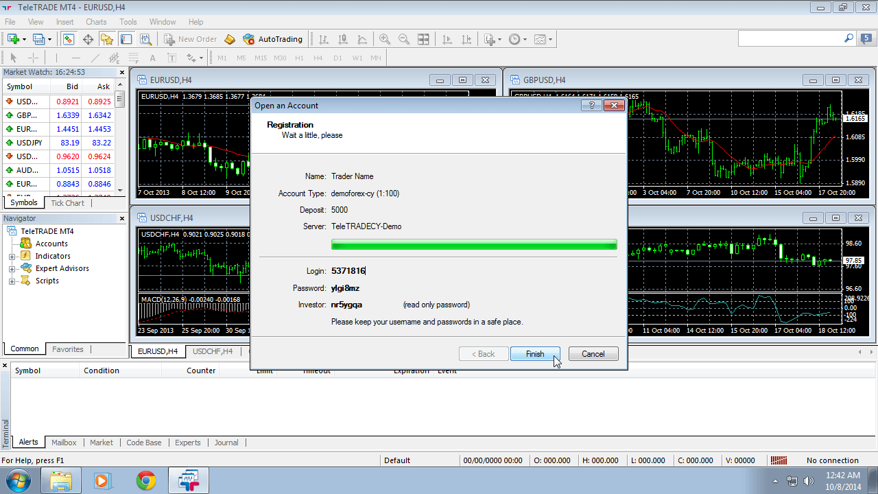 MetaTrader 4 Installation Instructions for Windows | TeleTrade