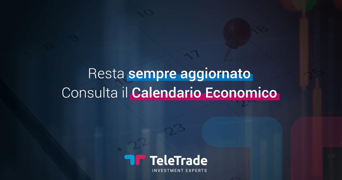 Investingcom Calendario Economico.Calendario Economico 2019 In Tempo Reale Teletrade