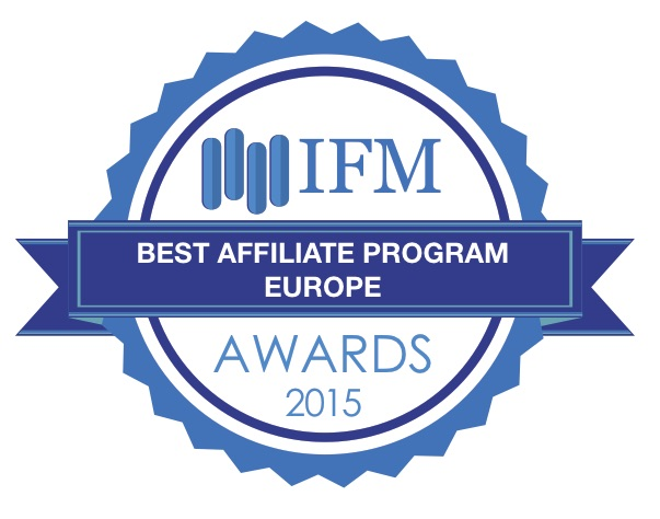 TeleTrade won the prestigious award 'Best Affiliate Program Europe 2015'  - TeleTrade