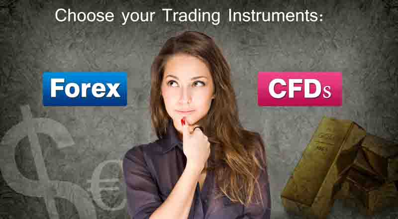 Choose your Trading Instruments: Forex and CFD Trading - Teletrade