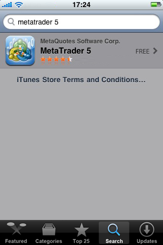 metatrader 5 installation instructions for iphone
